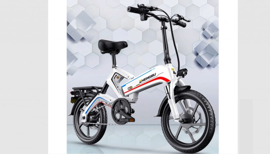 ZhengbuK6自転車とバッテリーの3年間保証付きの革新的な耐久性のある電動自転車